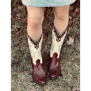 SILVER REBEL by BOULET western cowgirl boots